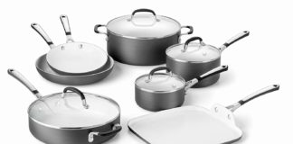 Calphalon® Kitchen Essentials Collection Ceramic Nonstick Cookware Review