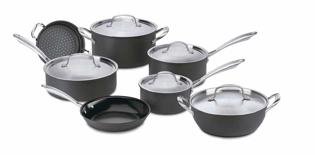 Cuisinart® GreenGourmet Hard-Anodized Nonstick Cookware Review