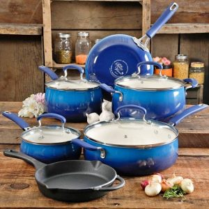 Blue Ceramic Cookware Picture